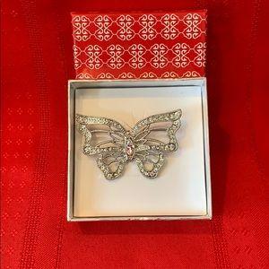 Jewelry - Butterfly Brooch 🦋 Gift Box NIB